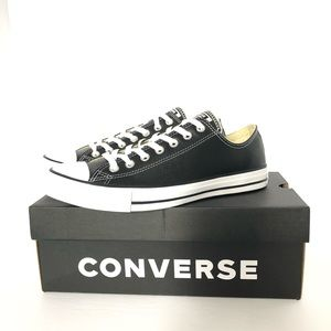 New CONVERSE CT All Star Leather Low Men's Sz 9.5